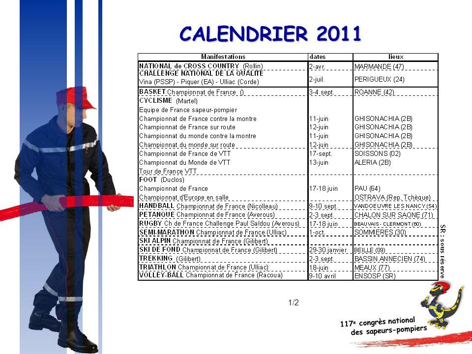 CALENDRIER 2011 1/2