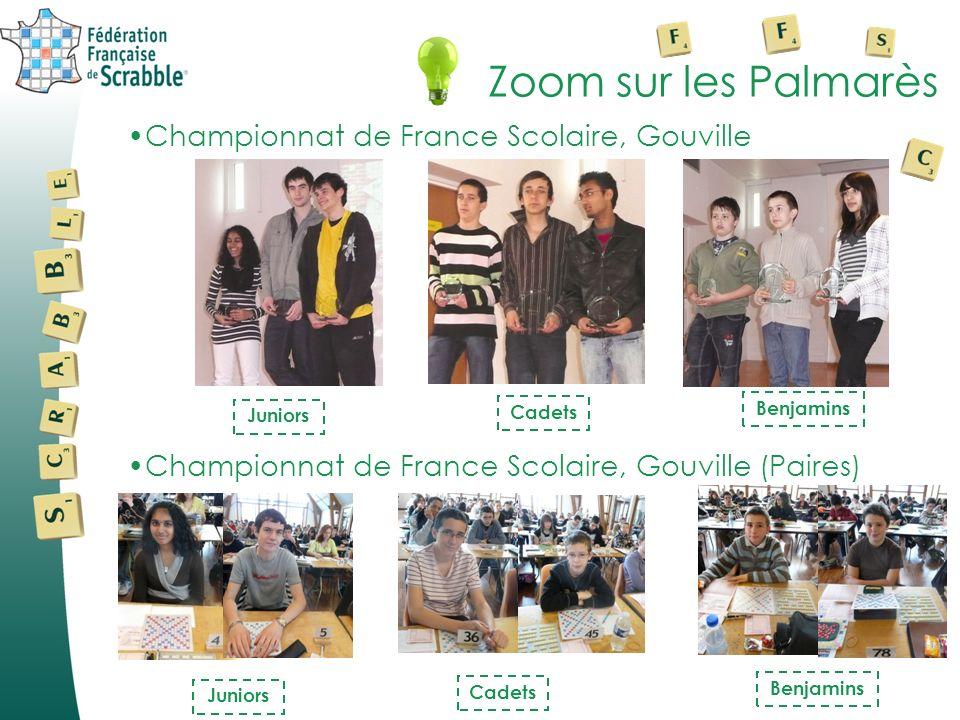 Zoom sur les Palmarès Championnat de France Scolaire, Gouville