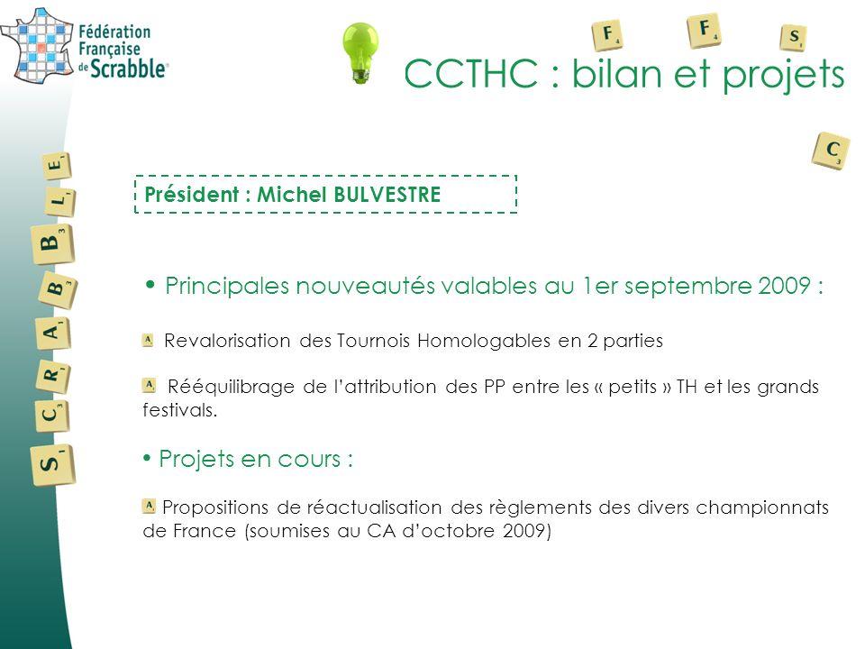 CCTHC : bilan et projets