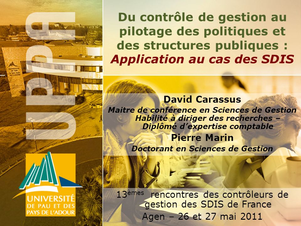 Doctorant en Sciences de Gestion