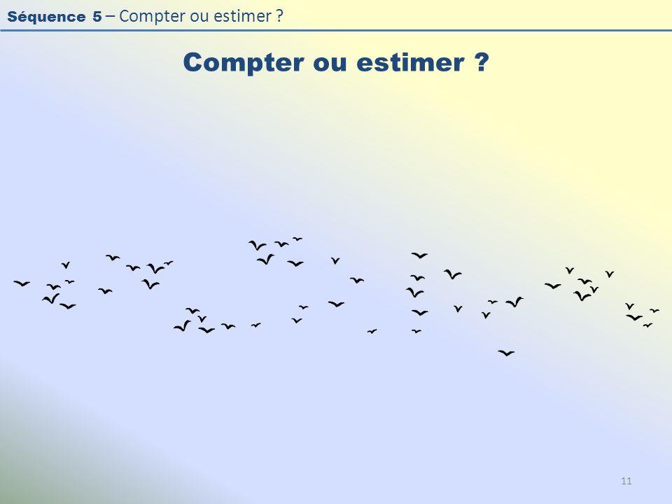Compter ou estimer L'effectif est > 20 (50) , les oiseaux sont en vol , à bonne distance, la luminosité est bonne.
