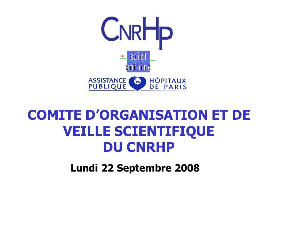 COMITE D'ORGANISATION ET DE VEILLE SCIENTIFIQUE