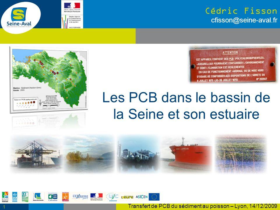 Les PCB dans le bassin de la Seine et son estuaire