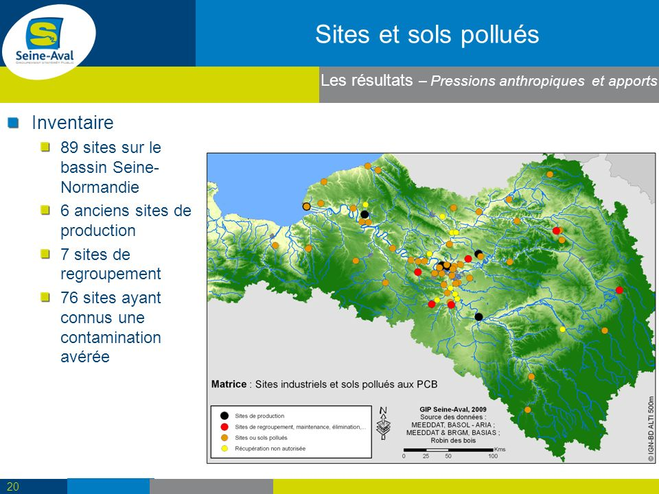 Sites et sols pollués Inventaire