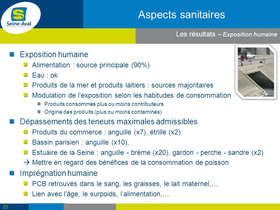 Aspects sanitaires Exposition humaine