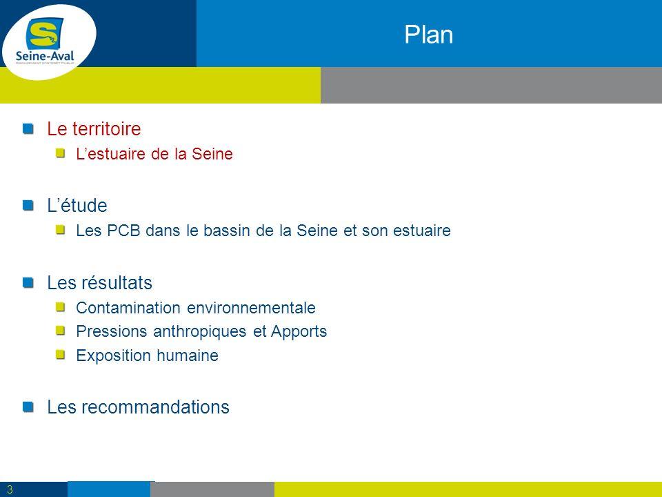 Plan Le territoire L'étude Les résultats Les recommandations