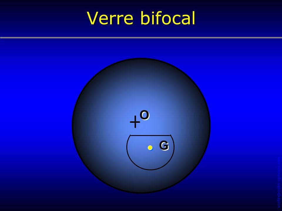 Verre bifocal O G 22 34