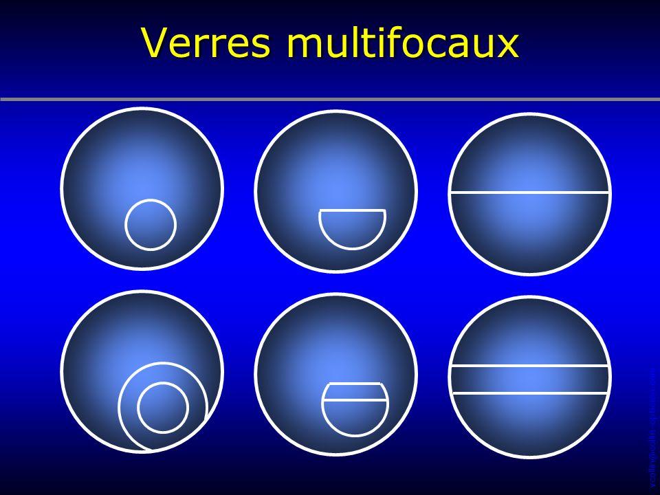 Verres multifocaux 138 91