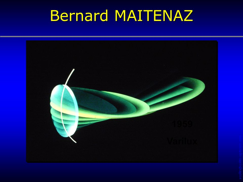 Bernard MAITENAZ 1959 Varilux