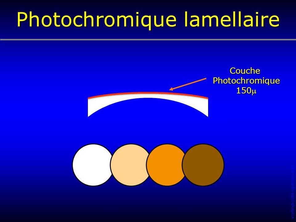 Photochromique lamellaire