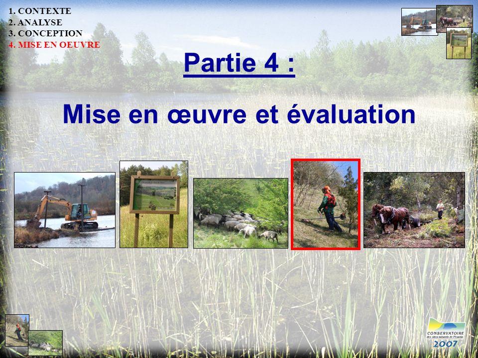 Mise en œuvre et évaluation