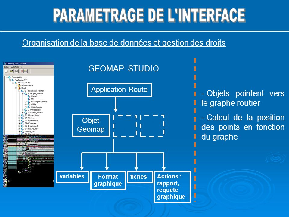 PARAMETRAGE DE L INTERFACE