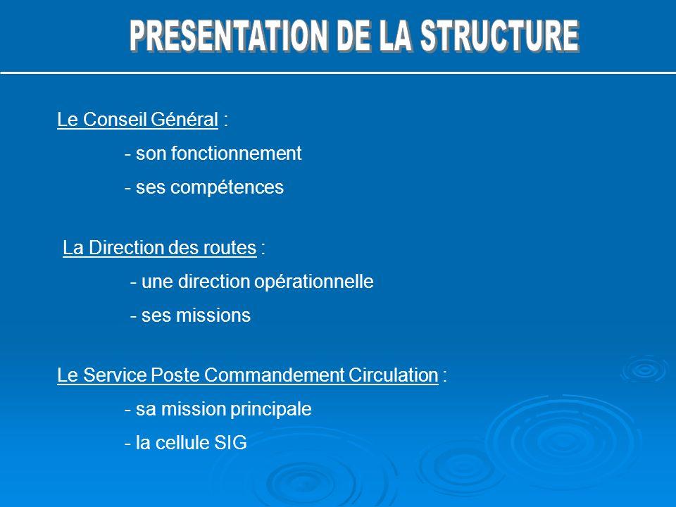 PRESENTATION DE LA STRUCTURE
