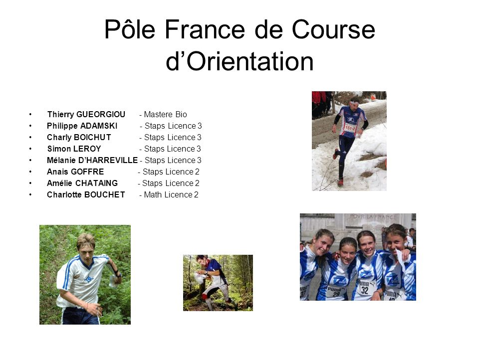 Pôle France de Course d'Orientation