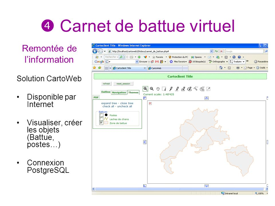  Carnet de battue virtuel