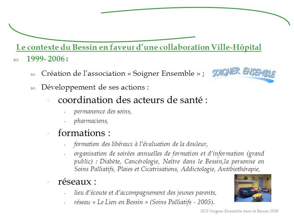 Le contexte du Bessin en faveur d'une collaboration Ville-Hôpital