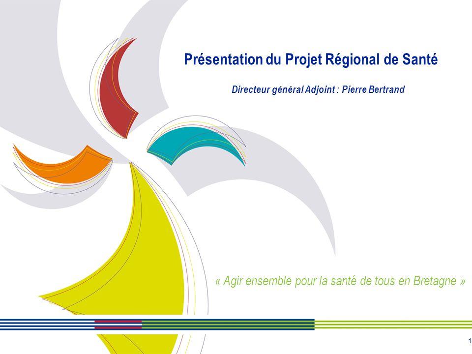 Présentation du Projet Régional de Santé