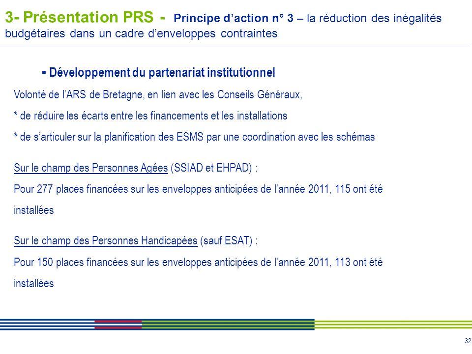 3- Présentation PRS - Principe d'action n° 3 – la réduction des inégalités budgétaires dans un cadre d'enveloppes contraintes