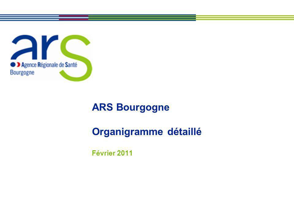 ARS Bourgogne Organigramme détaillé