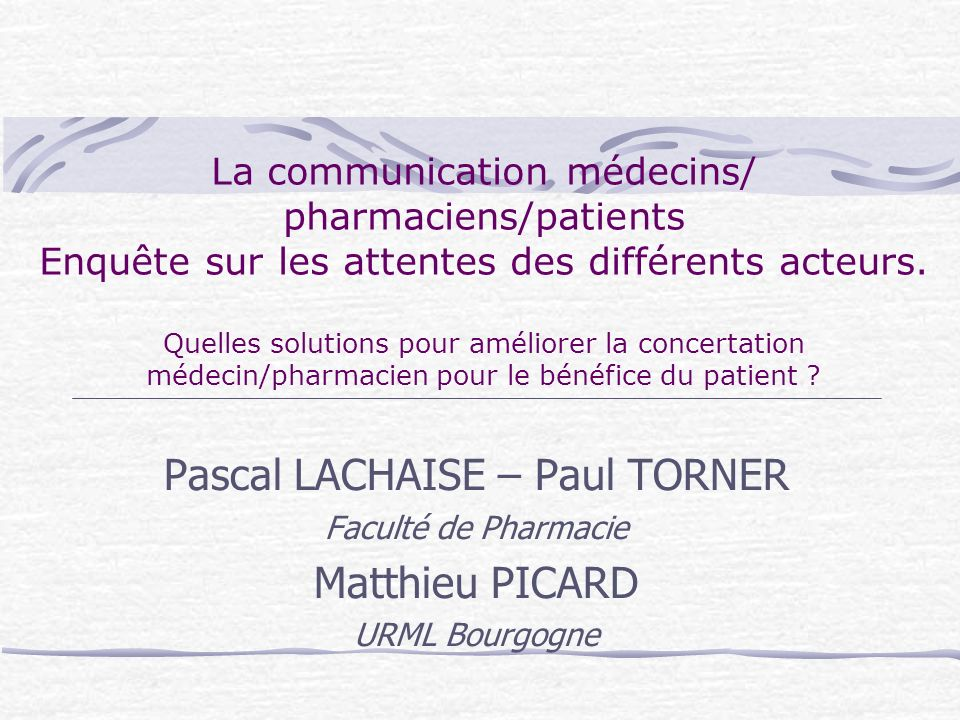 Pascal LACHAISE – Paul TORNER