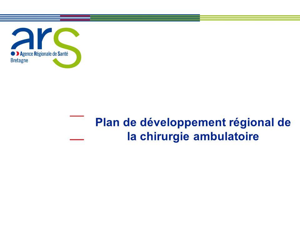 Plan de développement régional de la chirurgie ambulatoire