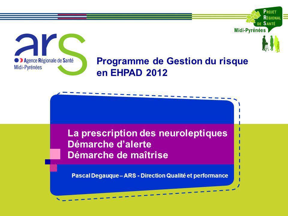 Pascal Degauque – ARS - Direction Qualité et performance
