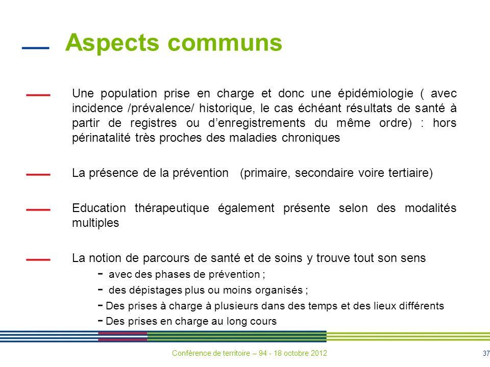 Aspects communs
