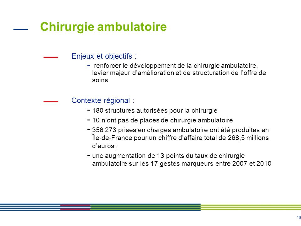 Chirurgie ambulatoire
