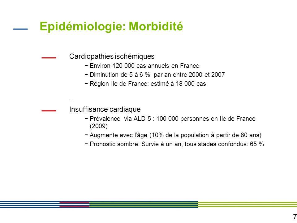 Epidémiologie: Morbidité