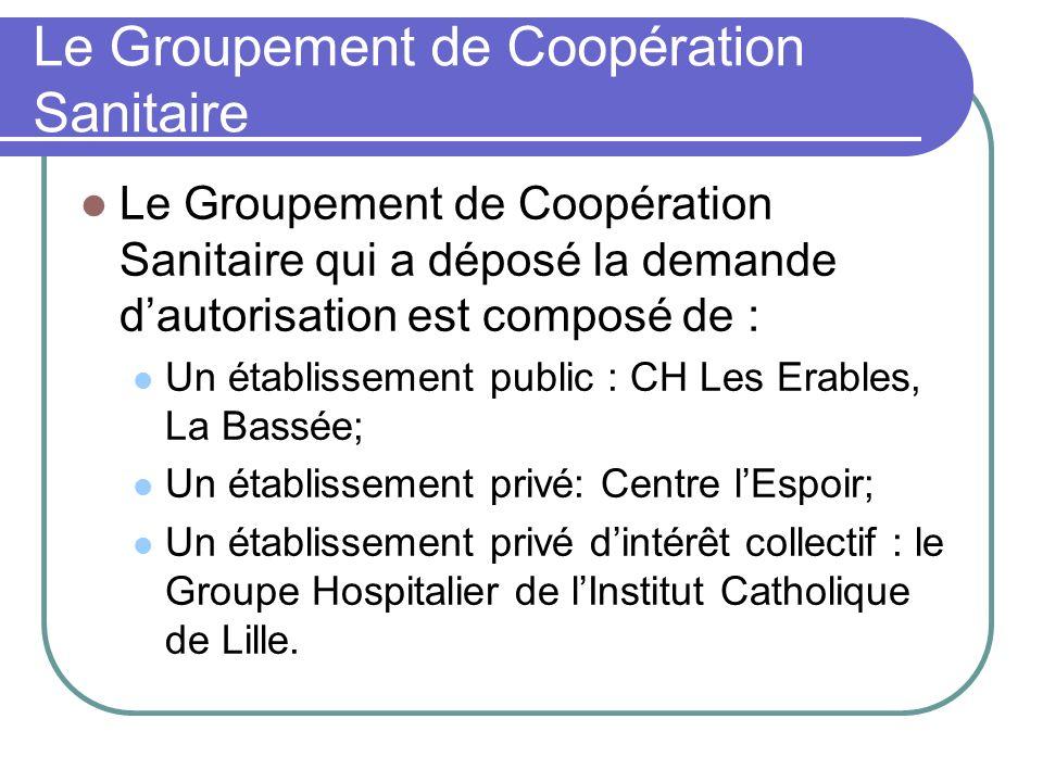 Le Groupement de Coopération Sanitaire