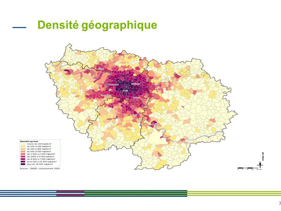 Densité géographique
