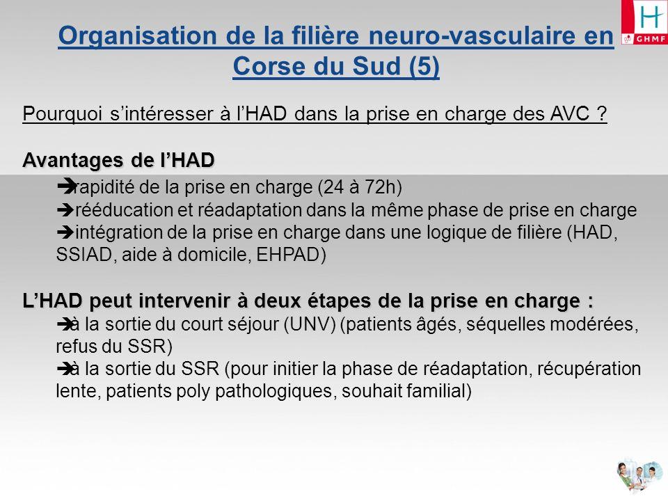 Organisation de la filière neuro-vasculaire en Corse du Sud (5)