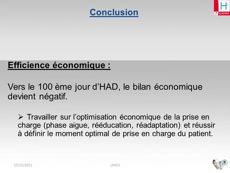 Efficience économique :