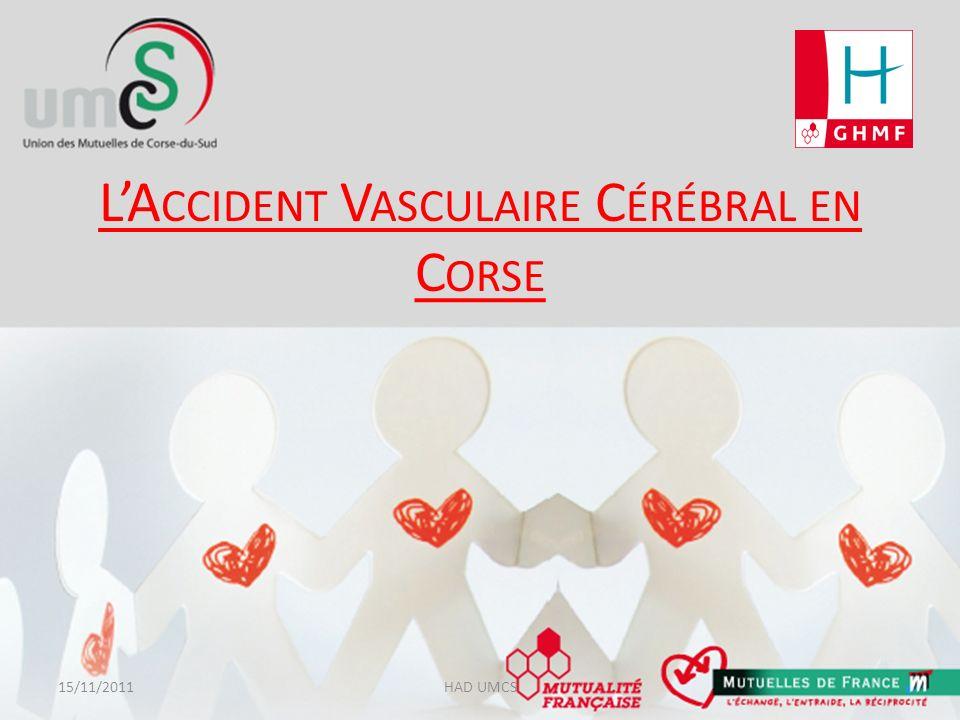 L'Accident Vasculaire Cérébral en Corse