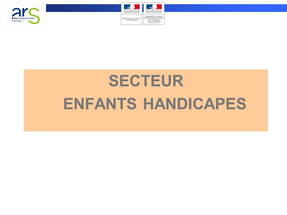 SECTEUR ENFANTS HANDICAPES