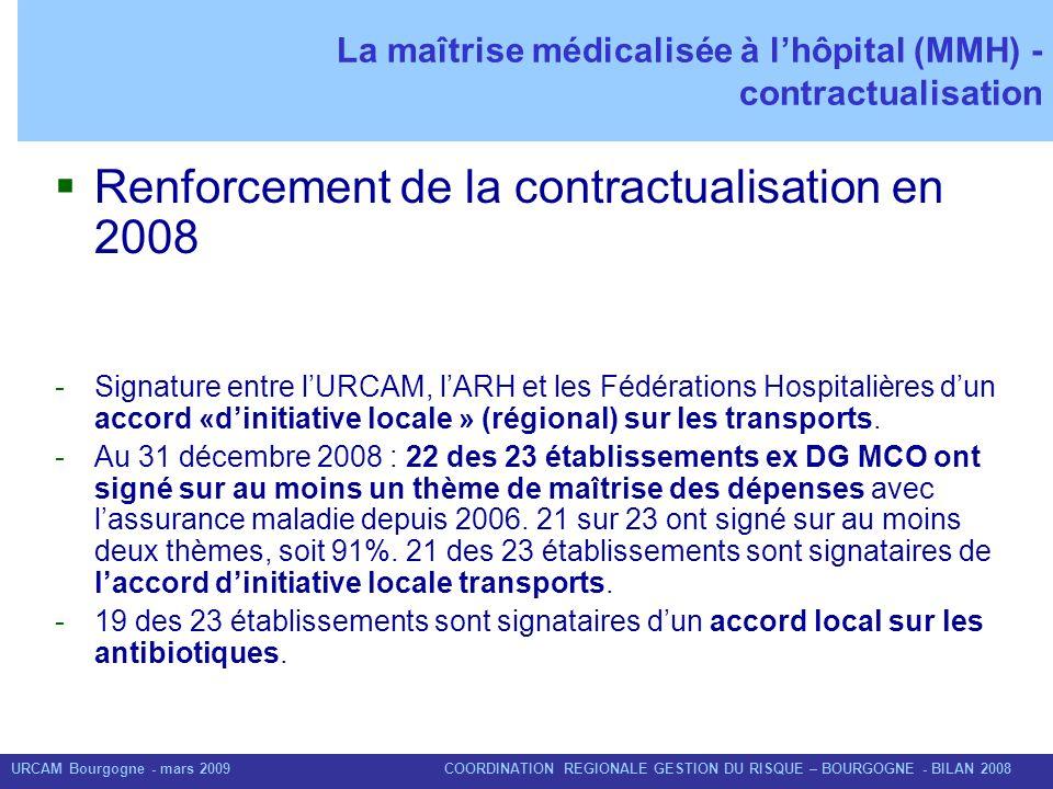 La maîtrise médicalisée à l'hôpital (MMH) - contractualisation