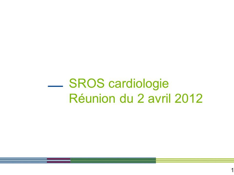 SROS cardiologie Réunion du 2 avril 2012