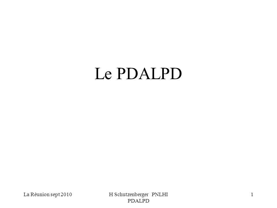 H Schutzenberger PNLHI PDALPD