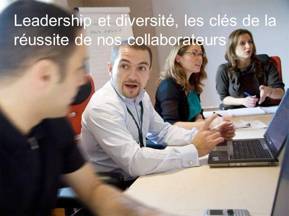 Leadership et diversité, les clés de la réussite de nos collaborateurs
