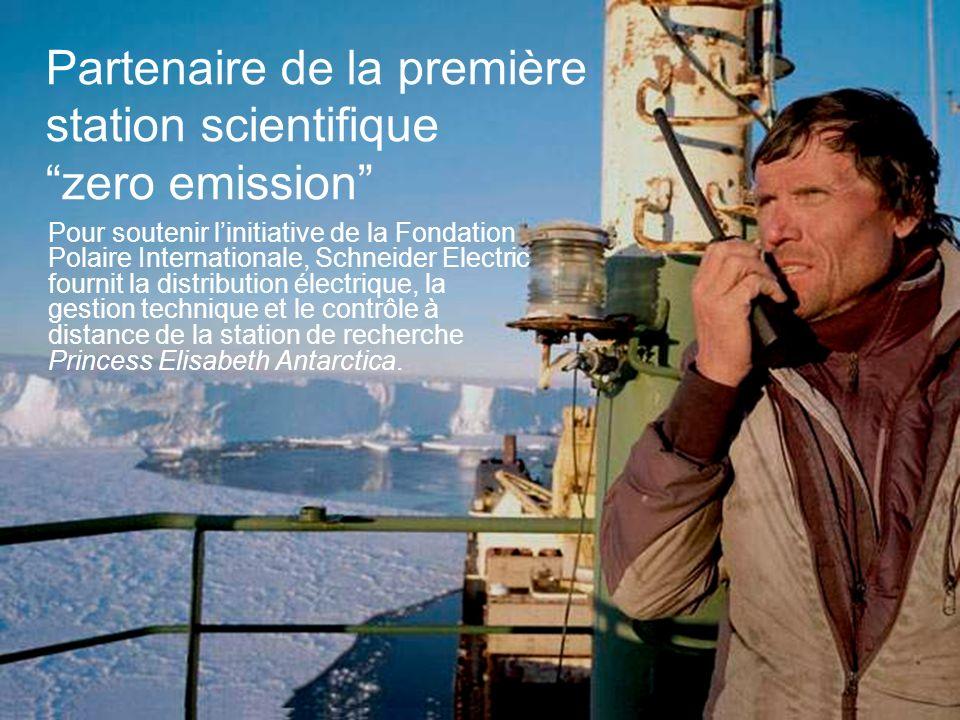 Partenaire de la première station scientifique zero emission