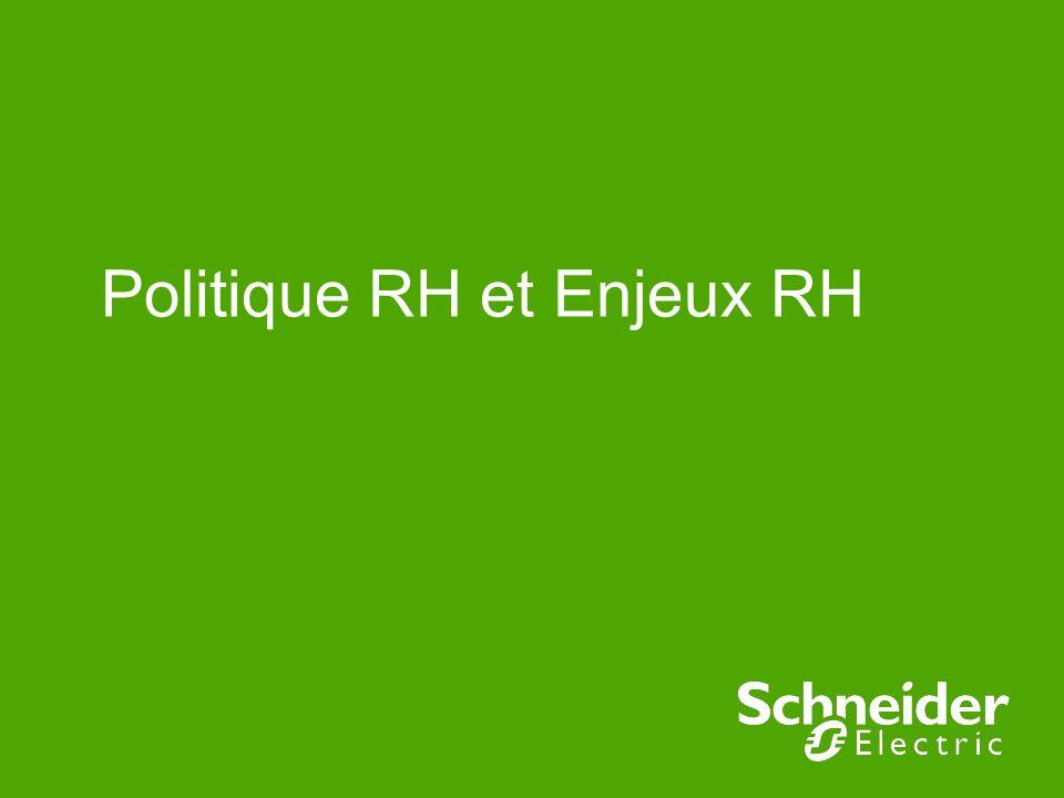 Politique RH et Enjeux RH