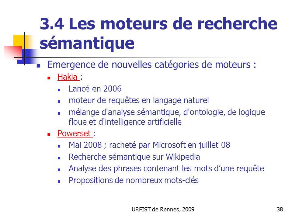 3.4 Les moteurs de recherche sémantique