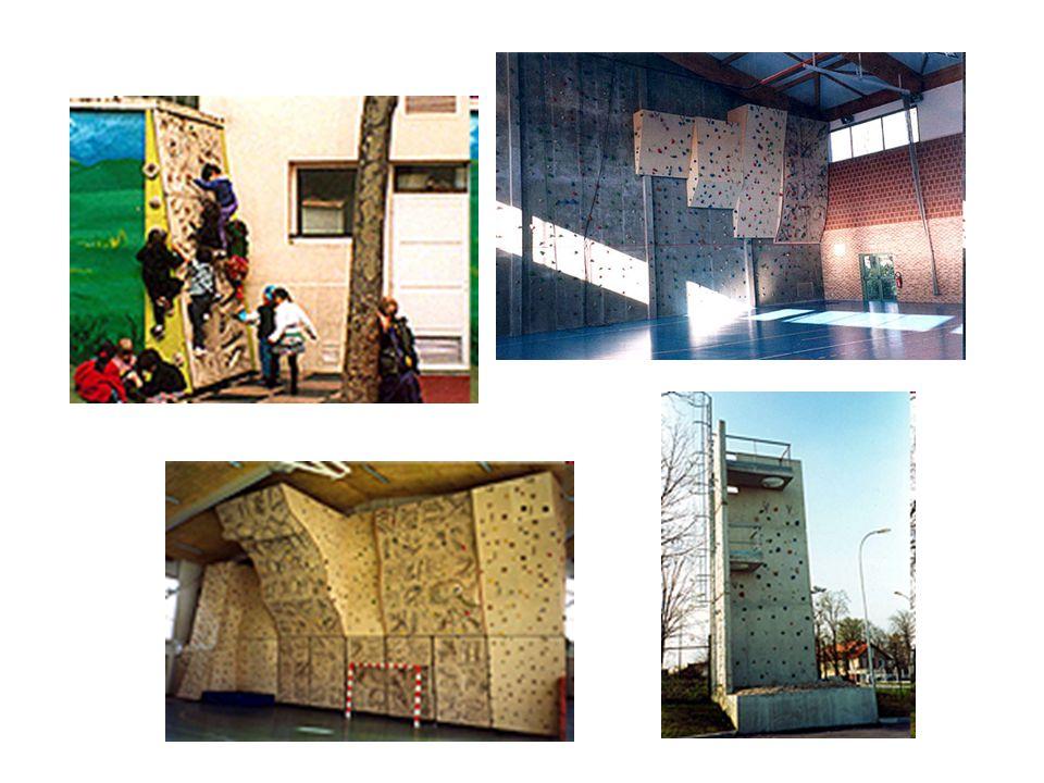 École maternelle, lycée, club d escalade, centre de secours (images Pyramide)