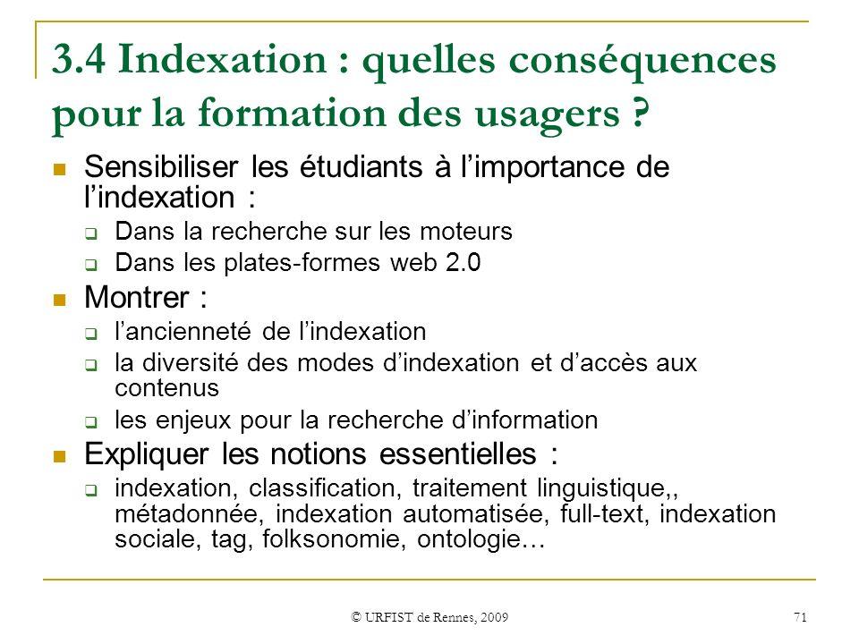 3.4 Indexation : quelles conséquences pour la formation des usagers