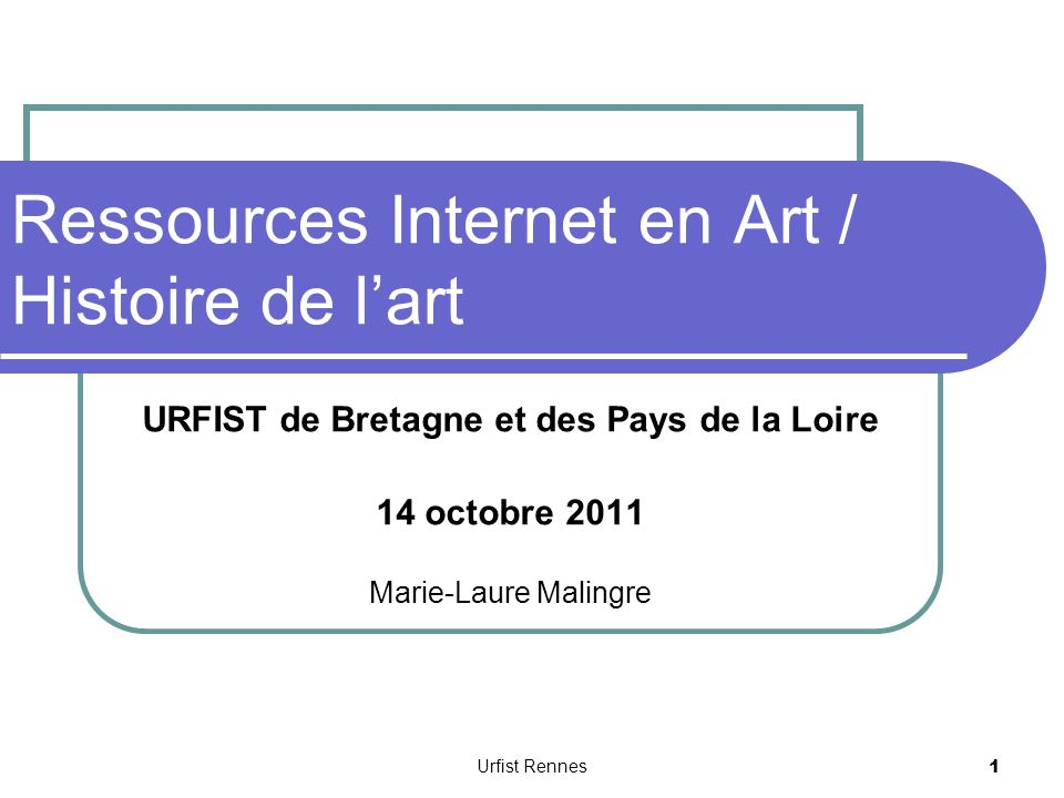 Ressources Internet en Art / Histoire de l'art