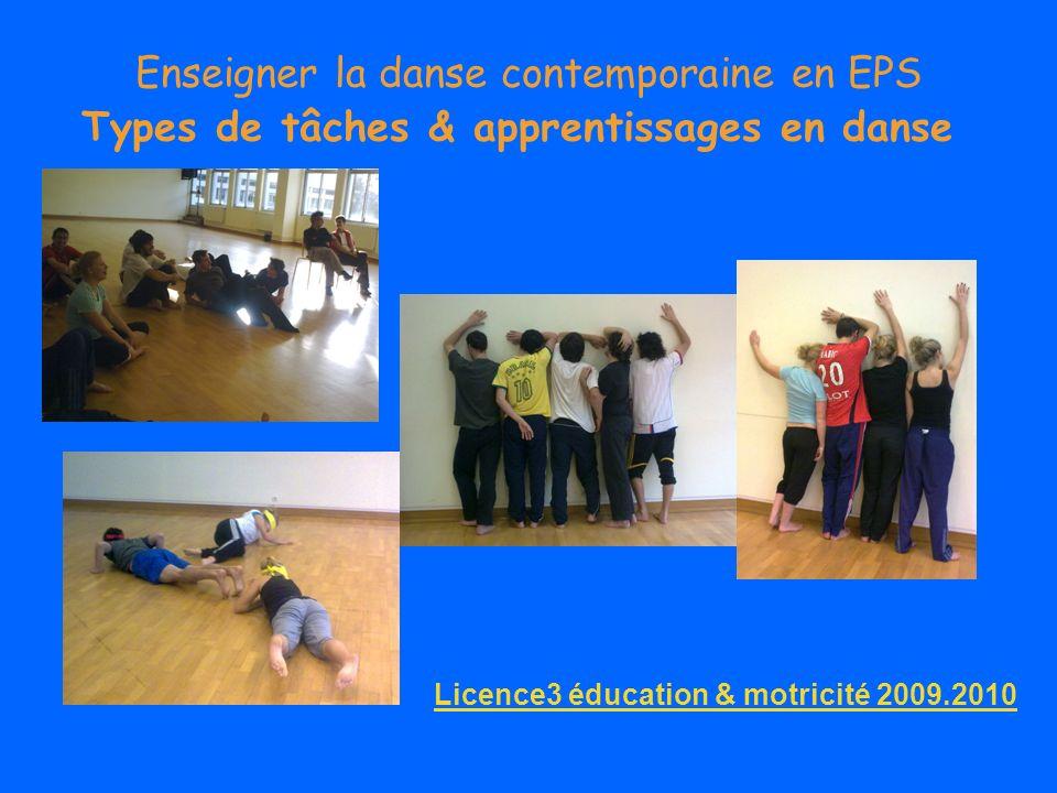 Enseigner la danse contemporaine en EPS