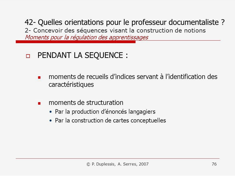 42- Quelles orientations pour le professeur documentaliste