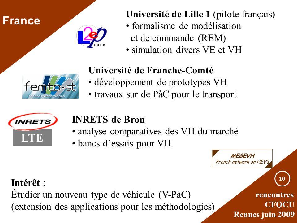 France LTE Université de Lille 1 (pilote français)