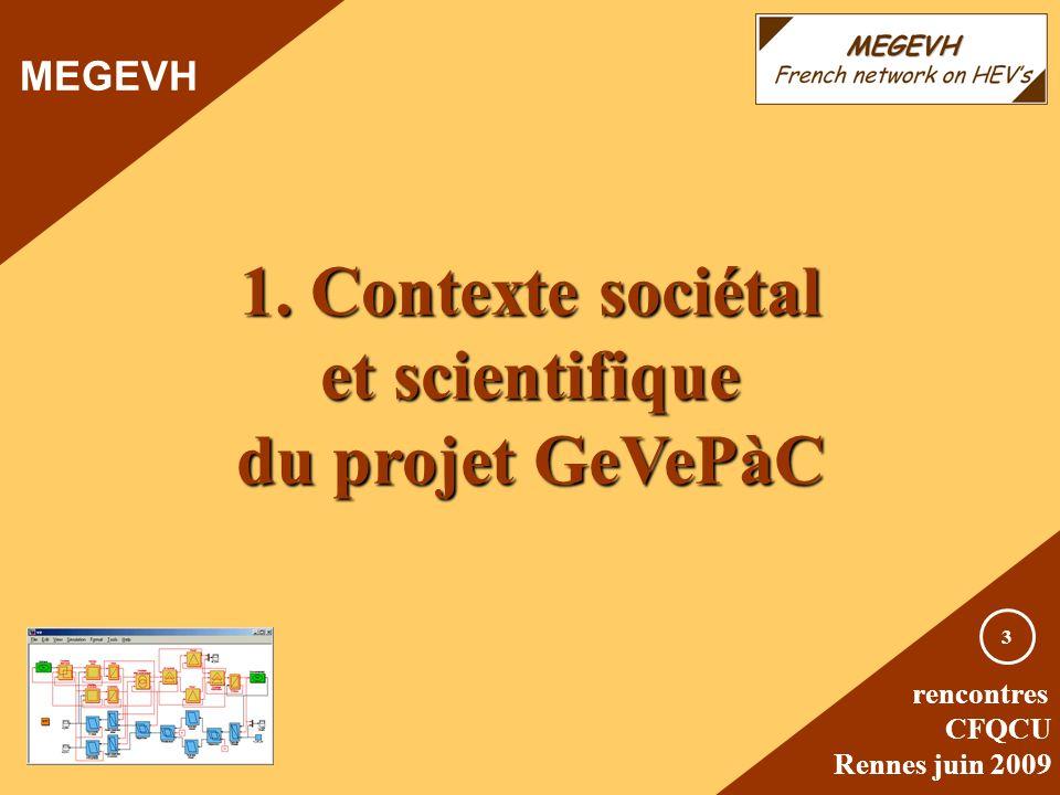 1. Contexte sociétal et scientifique du projet GeVePàC