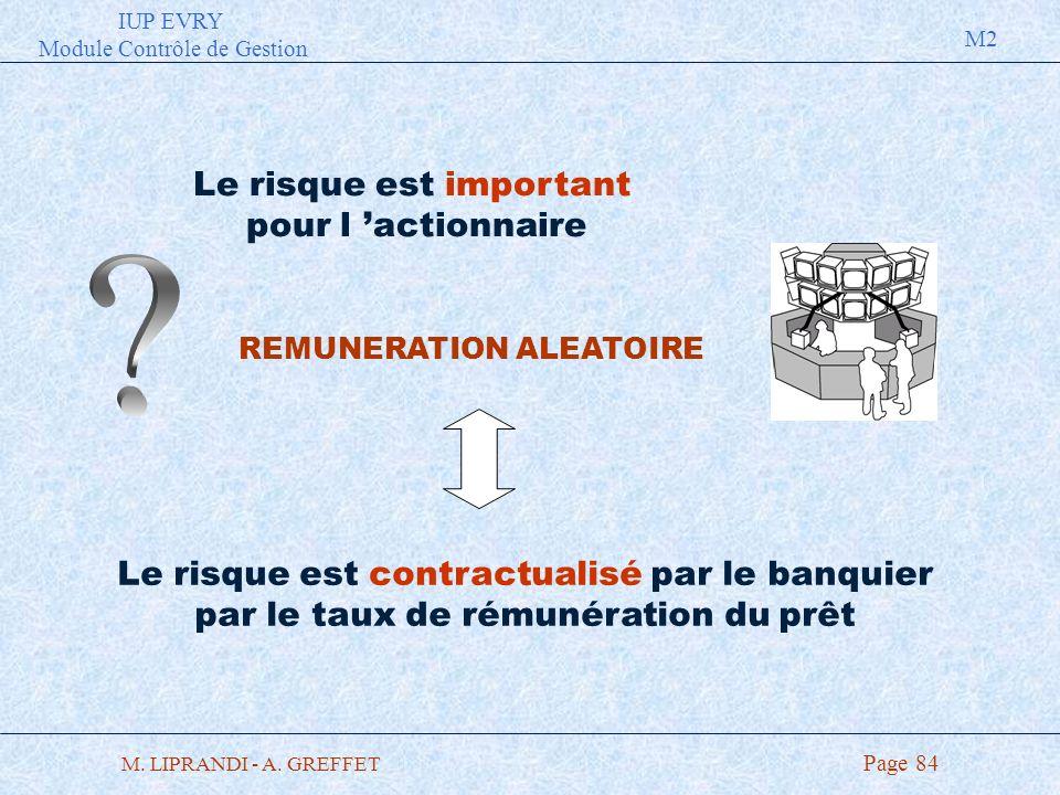 REMUNERATION ALEATOIRE